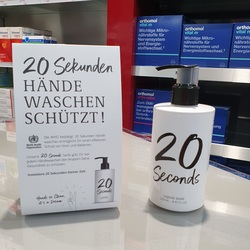 20 Seconds Handseife